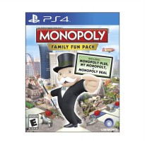 PlayStation 4 Monopoly CD Game