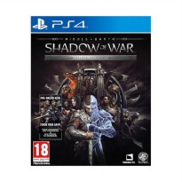 SONY PlayStation 4 Middle Earth Shadow of War Silver Edition DVD Game