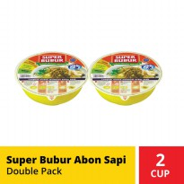 Super Bubur Abon Sapi Double Pack
