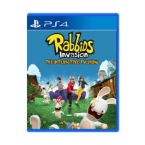 SONY PS4 Rabbids Invasion DVD Game