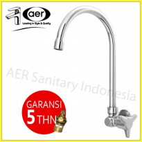 AER Kran Air Dapur Kuningan Angsa / Brass Kitchen Wall Faucet AOV 09BX