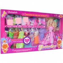BONEKA BARBIE FASHION GIRL