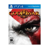 Sony Playstation 4 God Of War III Remastered DVD Game