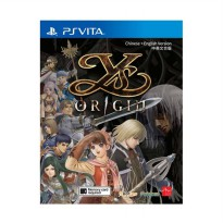 SONY PS Vita Ys Origin DVD Game