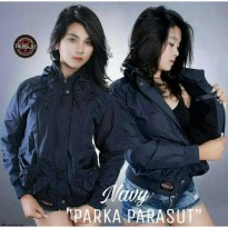 Jaket Ladies Parka Parasut Original Waterproof