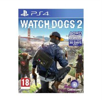 Sony PS4 Watch Dogs 2 DVD Game