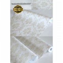 Wallpaper Sticker 10meter x 45cm Motif Batik