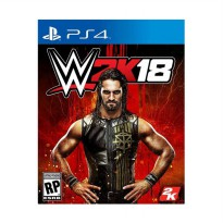 Sony PS4 WWE 2K18 DVD Game