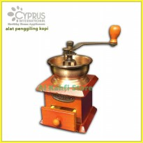 Alat Penggiling Kopi Manual | Coffee Grinder manual Cyprus GR-0062