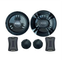 X-Drive XD-656C 2 Way Speaker Component [6.5 Inch]
