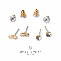 cocoa jewelry Anting SET Wanita Korea - To The Infinity Gold Color