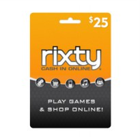 Rixty Code Voucher Game [25$]