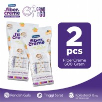 FiberCreme Grab and Go 600gr Twinpack