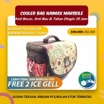 Terlaris Cooler bag Naimax Marseille Executive Brown Keren