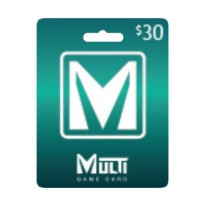 Multi Game Card Voucher [US$30]