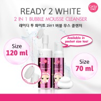 Cathy Doll- Ready2White 2in1 Bubble Mousse Cleanser 120ml