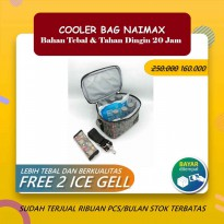 Terlaris Cooler bag NAIMAX NABAG - CANNES MINI BLACK Elegan