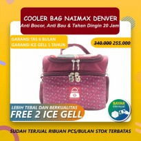 Cooler Bag Naimax Denver Maroon Flower