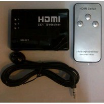[GAINTECH] HDMI v1.4b Switch 3-in to 1-out with Remote (Passive)