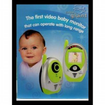 New Little Giant Baby Monitor Video Big Sale