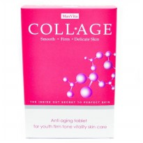 MaxVita COLLAGE Anti Aging - Isi 60 tablet