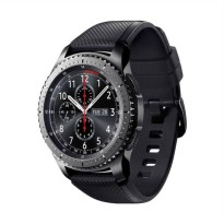 Samsung Gear S3 Frontier with Black Sport Band Smartwatch