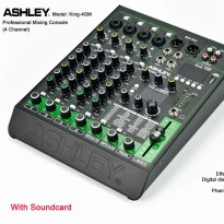Mixer Ashley 4 Channel King