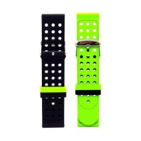 Nine Double Side Strap for Samsung Gear S3 Frontier 38 mm - Green