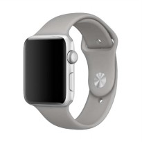 OEM Unisex Rubber Strap for Apple Watch or iWatch 38 mm - Grey