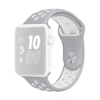 OEM Nike Unisex Rubber Strap for Apple Watch or iWatch 38 mm - Grey