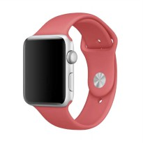 OEM Unisex Rubber Strap for Apple Watch or iWatch 42 mm - Pink