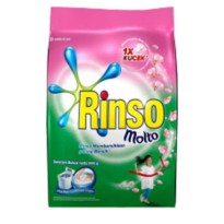 Rinso Deterjen Powder   Molto Rose Fresh bag 770/800g