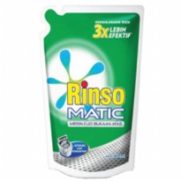 Rinso Deterjen Liquid Top Load Pch 800ml