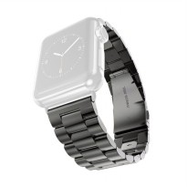 OEM Unisex Stainless Steel Strap for Apple Watch or iWatch 42 mm - Black