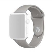 OEM Unisex Rubber Strap for Apple Watch or iWatch 42 mm - Grey
