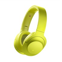 SONY MDR-100ABN Bluetooth Headphone - Yellow [Hires/Noise Cancelling]