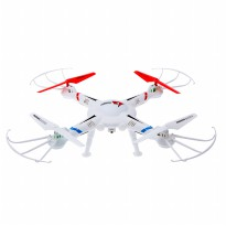 Drone Liansheng LS127 2.4G 6-Axis Gyro with 3D Roll - Putih