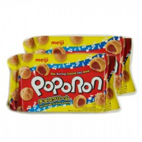 Meiji Poporon Chocolate 80Gr (Bundle 2)