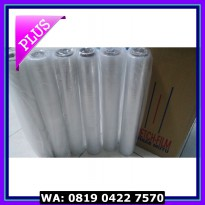 (Diskon) Jual Plastik Wrapping (Stretch Film) Lebar 50cm, Gulungan