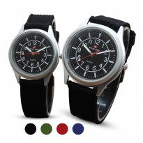 [Swiss Army] 4 Warna Jam Tangan Couple Canvas