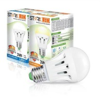Stark-Led Lampu LED 3watt Cool Day light Putih