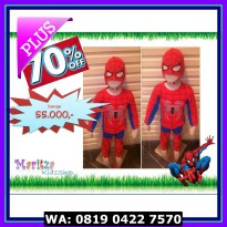 (Sale) Baju Anak / Stelan / Kostum Spiderman