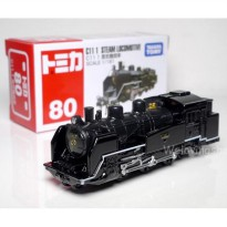Tomica No 80 Locomotive Kereta Api Miniatur Train Replika Diecast