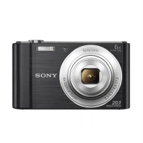 SONY DSC-W810 Black Kamera Pocket