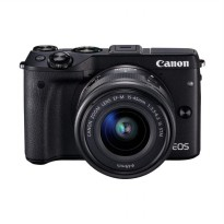Canon EOS M3 Kit 15-45mm STM Kamera Mirrorless - Black [24.2 MP]