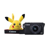 Canon EOS M10 Kit EF-M 15-45mm IS STM Kamera Mirrorless - Black + Free Pokemon Special Edition
