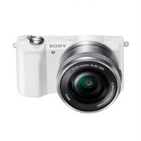 SONY ILCE A5000L Kit 16-50mm Kamera Mirrorless - White