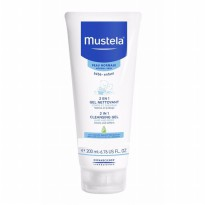 Mustela Bebe Cleansing Gel 2 in 1 Hair and Body - 200ml