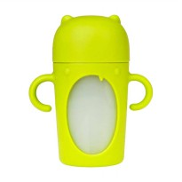 Boon Modster Sippy Cup Tall Botol Minum - Green