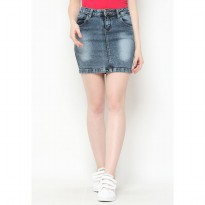 Mobile Power Ladies Casual Jeans Skirt - I3250